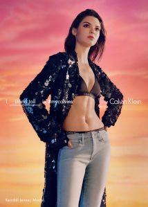 Kendall Jenner (Photo: Courtesy Calvin Klein).