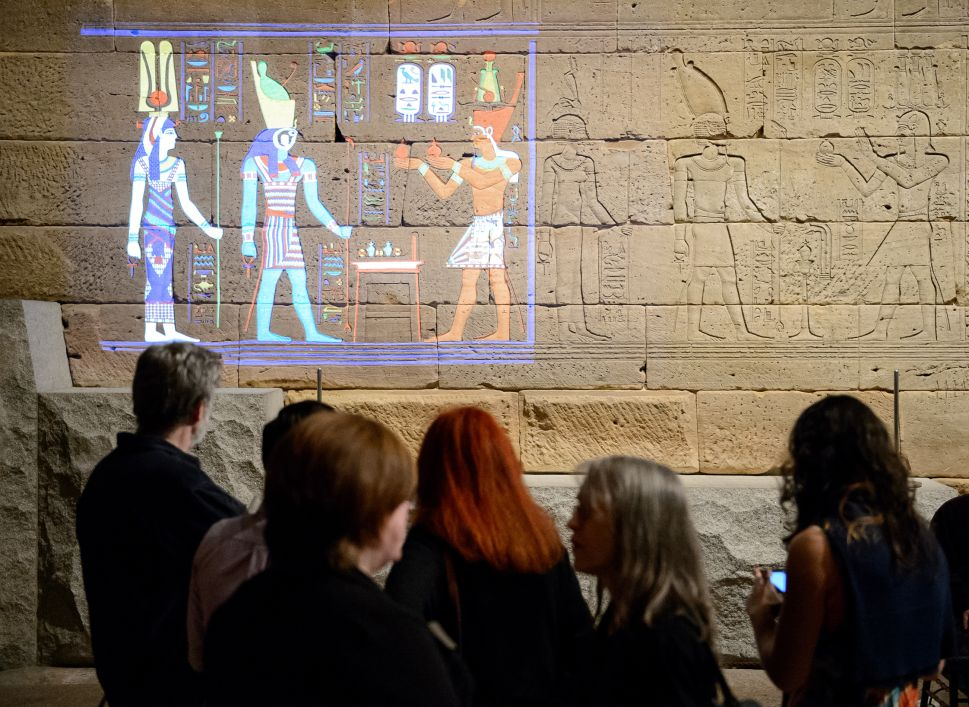 High-Tech Lights Bring Color Back to the Met's Temple of Dendur