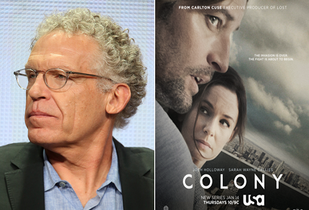 'Colony' Showrunner Carlton Cuse Talks Alien Invasions and Nazi Occupations