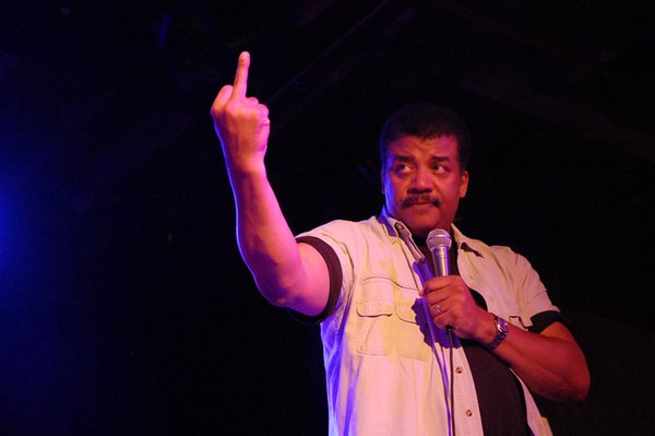 Comedian Roasts B.o.B. With 'Real deGrasse Tyson' Flat Earth Tweets