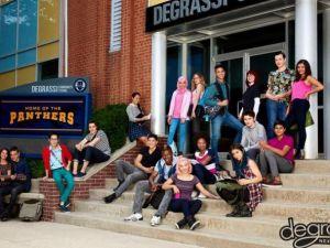 Degrassi's new class. (Netflix)