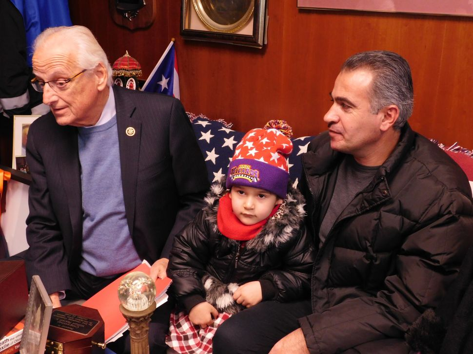 Pascrell Hosts Syrian Refugee Family, Urges End to Anti-Refugee Sentiment