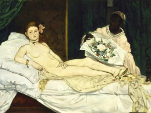 Edouard Manet, Olympia, (1863). (Photo: Wikimedia Commons)