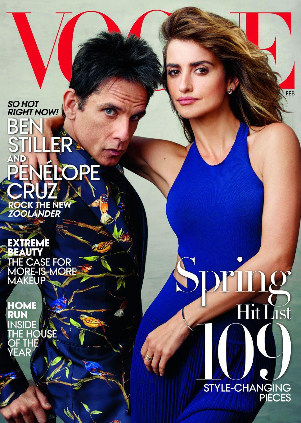 Derek Zoolander Finally Lands a 'Vogue' Cover
