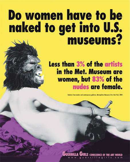 A Guerrilla Girl Takeover, Visual Trends for 2016—and More