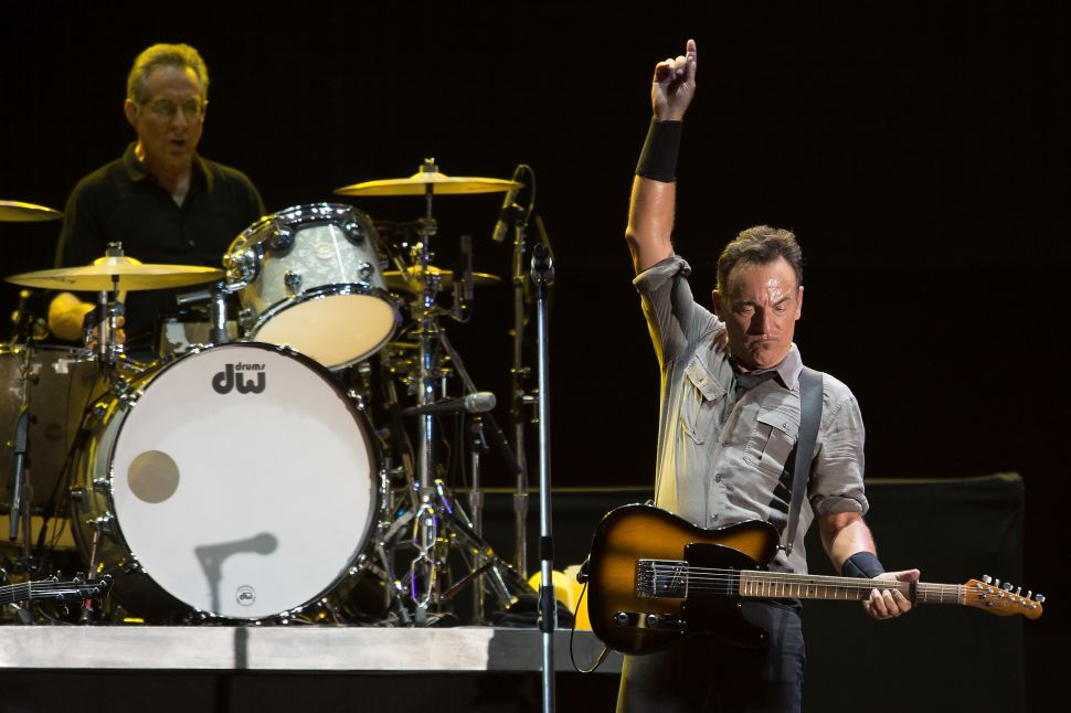 Here's Why You Couldn't Get Tickets to Bruce Springsteen at MSG Tonight