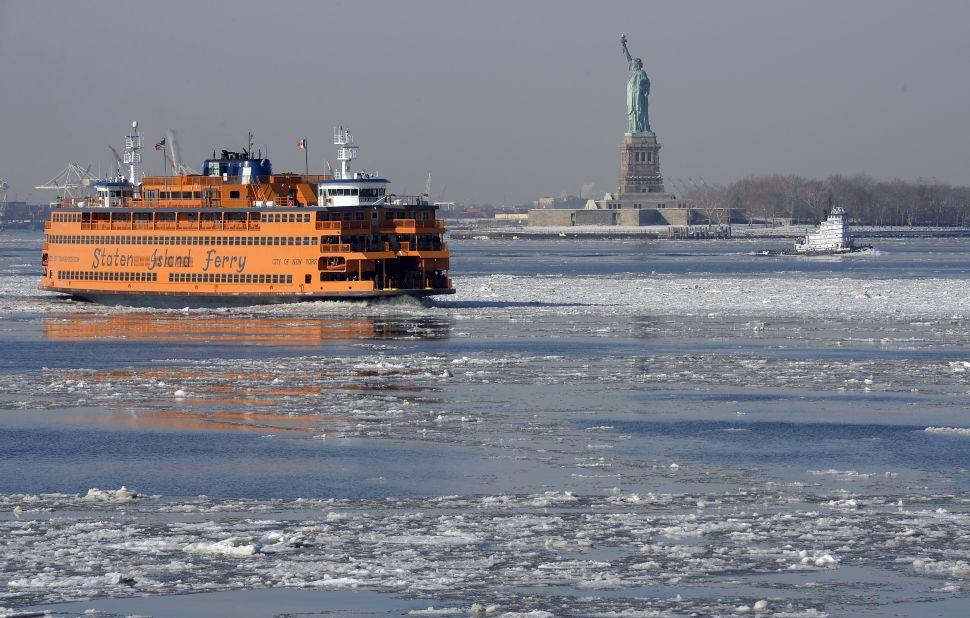 Bill de Blasio Names New Staten Island Ferry for Fallen Soldier