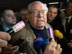 Jean-Marie Le Pen. (Photo Bertrand Langlois/AFP/Getty Images)