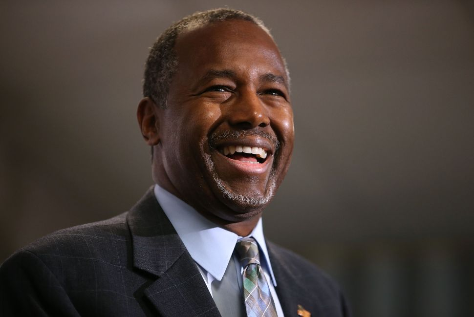 Ben Carson Has a Special Plan to Defeat ISIS