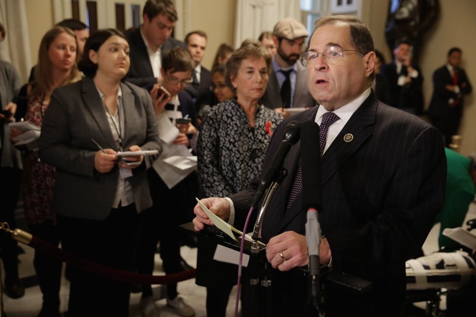 The Pathetic Partnership of Jerry Nadler and Iran
