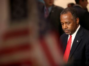 Ben Carson. (Photo: Justin Sullivan for Getty Images)