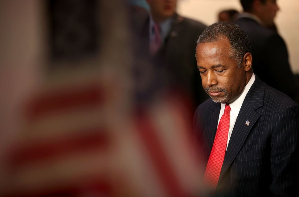 After Talk, NYC Mayor Thinks Ben Carson Could Be the 'Reasonable Voice' Under Trump