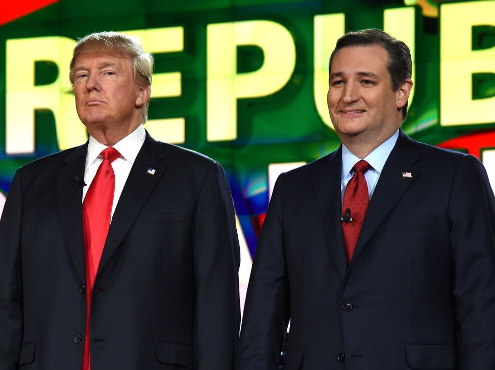 The Sixth Republican Debate: The Cruz Trump Fight You All Saw Coming
