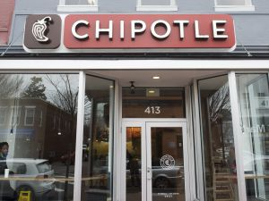 A Chipotle Mexican Grill restaurant is seen in Washington, DC (Photo: SAUL LOEB/AFP/Getty Images)