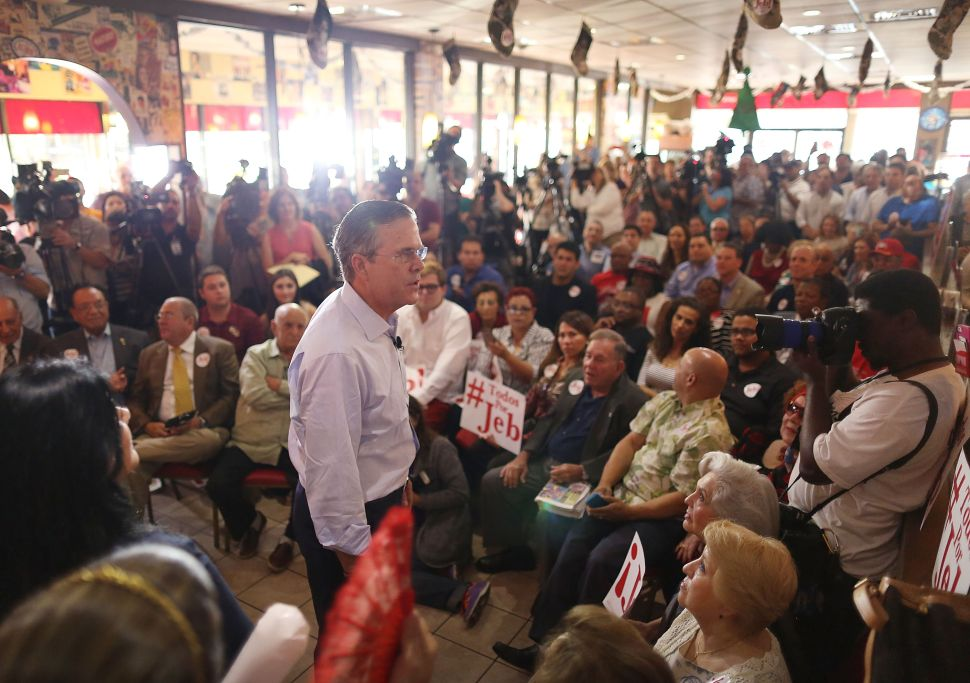 Jeb Bush Wants to Completely Get Rid of Food Stamps