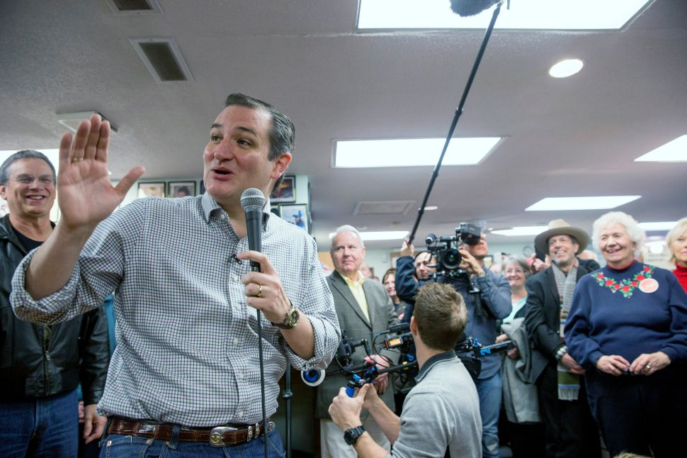 Ted Cruz Names Immigration Hardliner as Co-Chair of His Campaign
