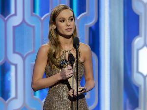 Brie Larson, award winning actress and Twitter shrink.
