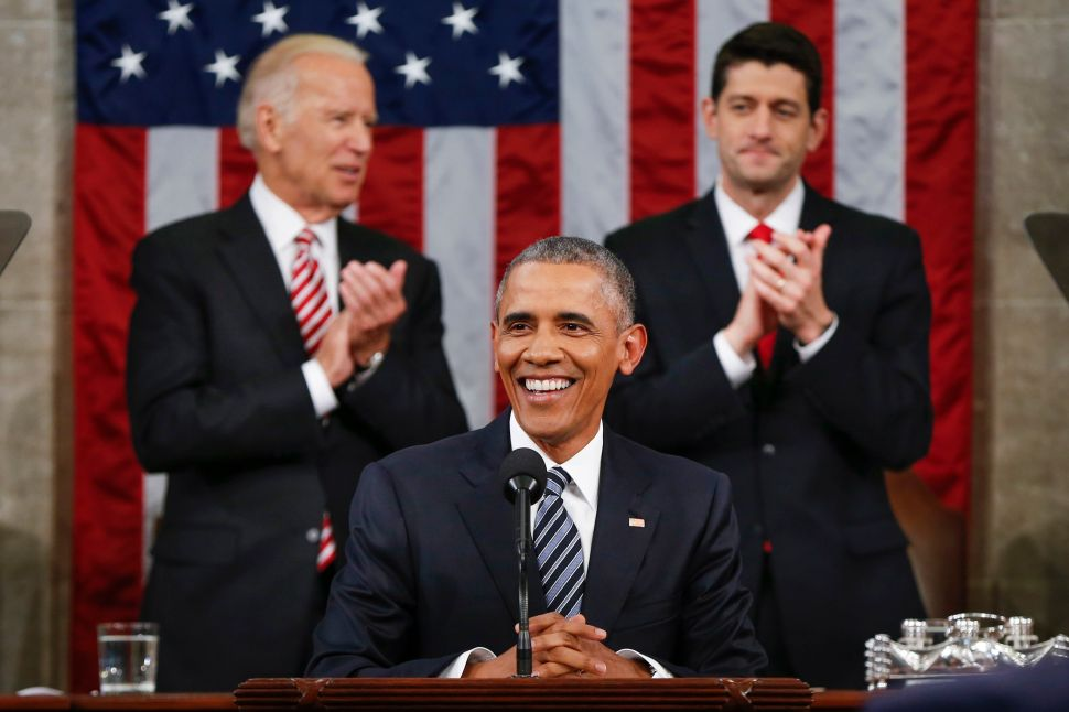 Barack Obama's Final SOTU: We Do Not Face World War III Against ISIS