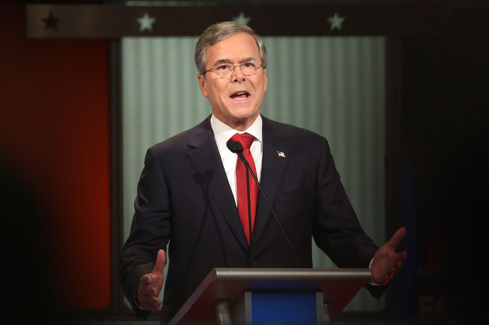 Jeb Bush Says Donald Trump Will Be 'Wiped Out' in the General Election
