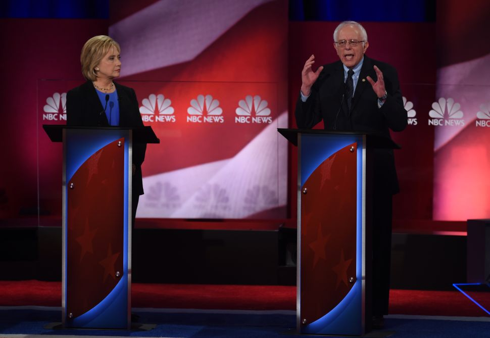 Three's a Crowd—Hillary and Bernie Duel as O'Malley Tries to Get a Word In