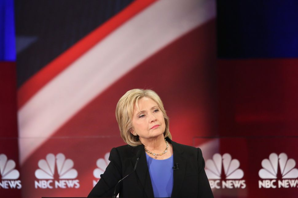 Debate Is Feisty But Little Is New—Clinton Blasts Snyder and Bernie Blasts Everyone