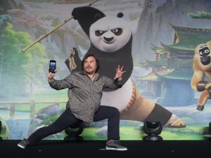 "attends the press conference for ""Kung Fu Panda 3"" on January 21, 2016 in Seoul, South Korea."