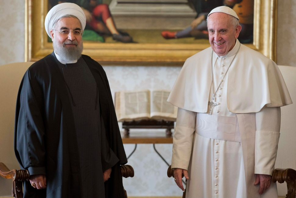 Iran's President Needs More Than a Blessing From the Pope