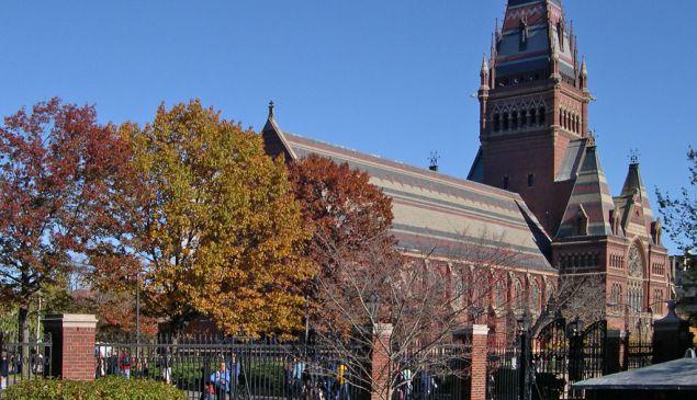 Memorial Hall, Harvard (Photo: Jacob Rus/Creative Commons)