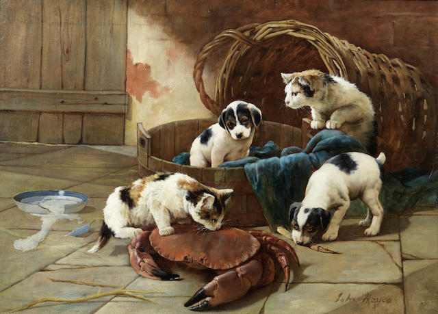 When Art Goes to the Dogs: Bonhams to Hold Canine-Themed Sale