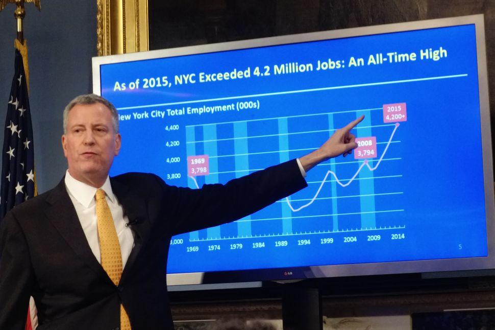 De Blasio Proposes $82.2 Billion Executive Budget for New York City