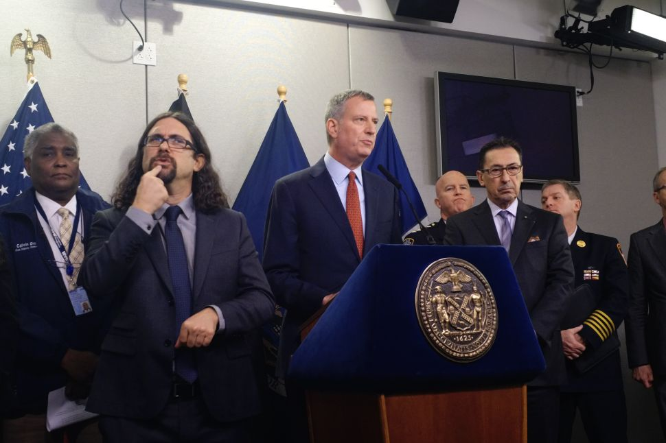 A Blizzard is Coming and the Mayor and the Governor Really Want You to Stay Home