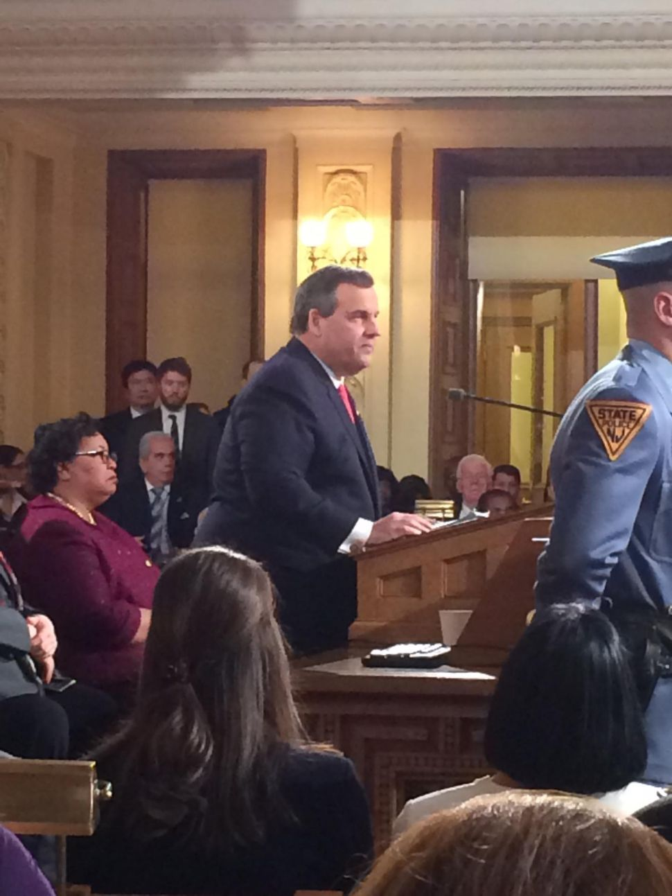 Governor Chris Christie's State of the State Address