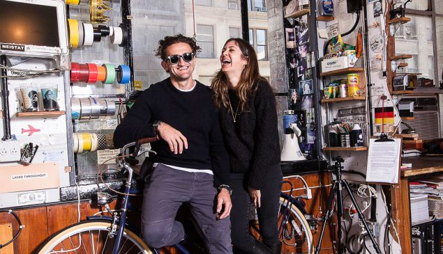 Casey Neistadt and Candace Pool are riding high. PHOTO: Emily Assiran for Observer