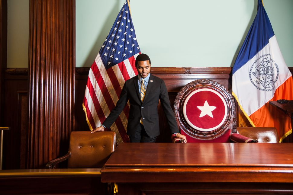 Could This 27-Year-Old Councilman Be the Mayor of New York One Day?