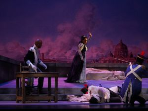 Tosca, performed by New York City Opera Renaissance. (Photo by Sarah Shatz)