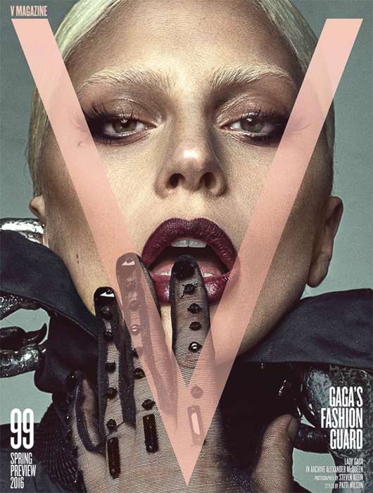 Lady Gaga and Actor Paint Canvas with Their Naked Love in V Magazine Blockbuster