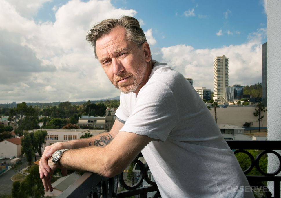 Tarantino's Hired Gun: Tim Roth of 'The Hateful Eight' Arms Himself for Controversy
