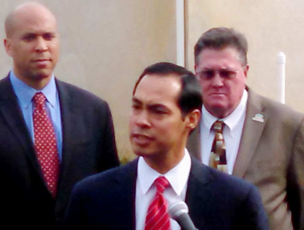 Tale of the Tape: Potential VPs Cory Booker Versus Julian Castro