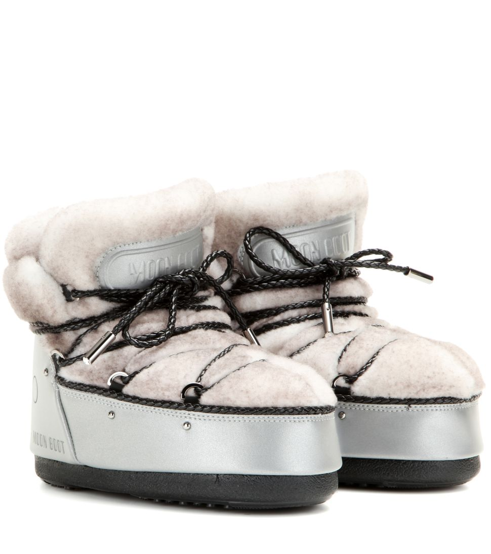 Jimmy Choo and Moon Boot Collaborate on a Cushy Winter Boot