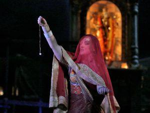 Diana Damrau as Leila in Bizet's Les Pêcheurs de Perles. (Photo by Ken Howard/Metropolitan Opera)