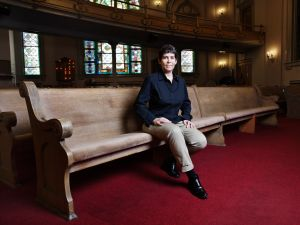 Rabbi Rachel Timoner took over as senior rabbi at Park Slope's Beth Elohim last July. (Photo: Celeste Sloman/Observer)