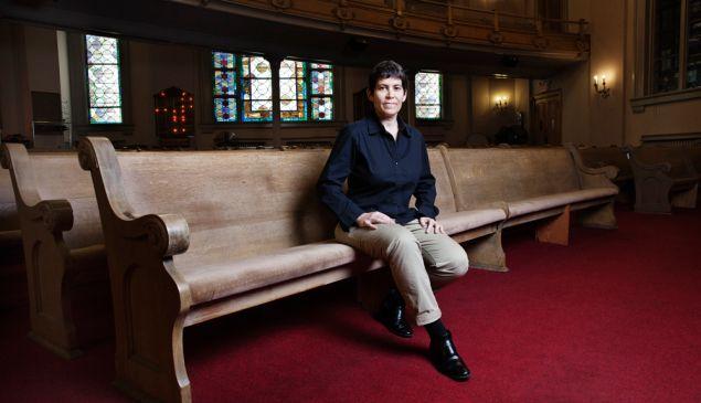 Rabbi Rachel Timoner took over as senior rabbi at Park Slope's Beth Elohim last July. (Photo: Celeste Sloman/Observer)