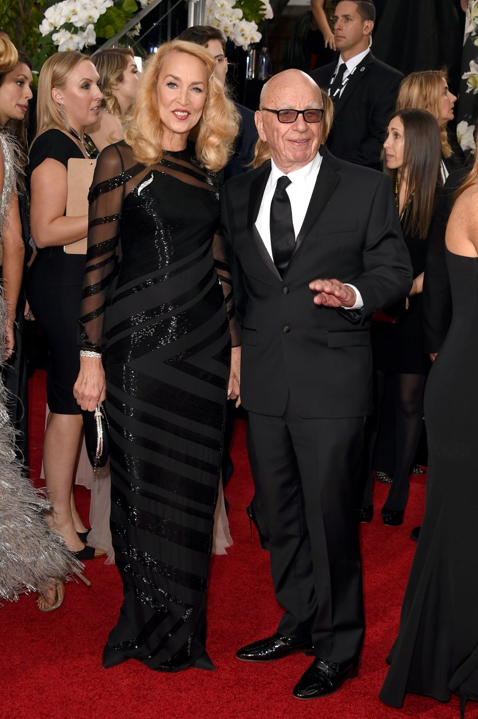 Rupert Murdoch and Jerry Hall Are Engaged