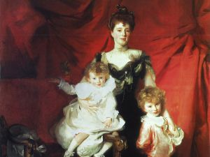 LACMA's new prize: Mrs. Cazalet and Children Edward & Victor (1900-01) by John Singer Sargent. (Photo: Promised gift of Barbra Streisand in honor of the museum's 50th anniversary)