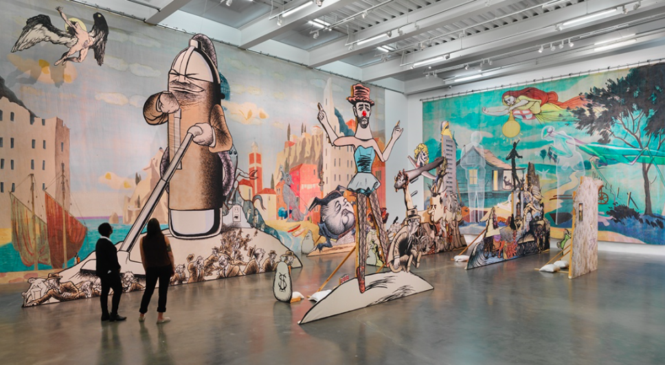 An Artist Taps Into America's Disturbed Psyche at the New Museum