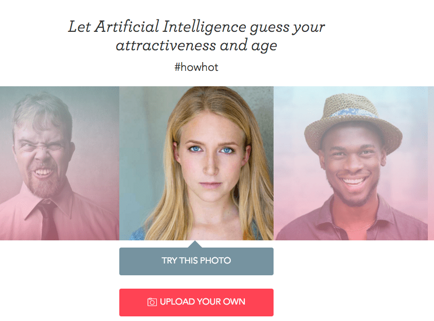 This Website Will Rate Your Attractiveness Using