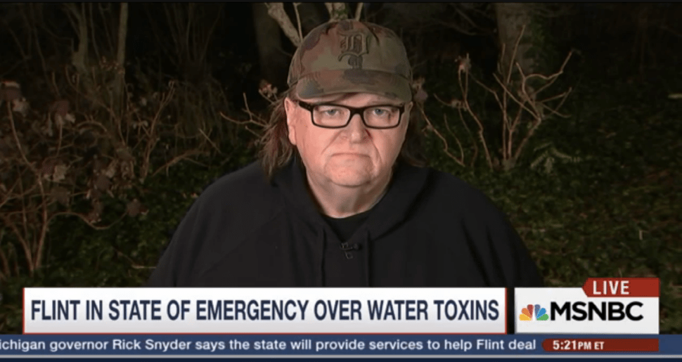Michigan Native Michael Moore Slams Rick Snyder for Covering Up Flint's Toxic Water
