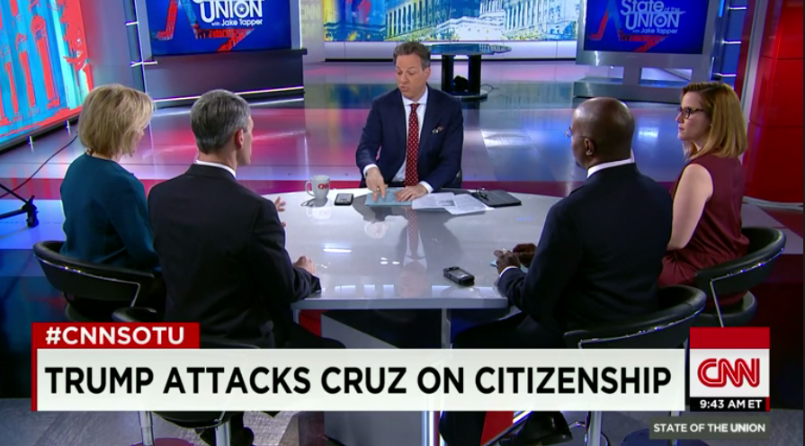Donald Trump Gives Ted Cruz a Taste of the 'Birther' Medicine