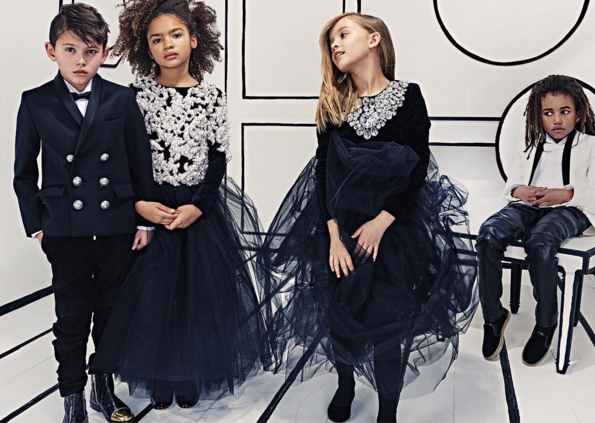 Baby Balmain Line Will Dress On-Trend Tots in Leather and Lace