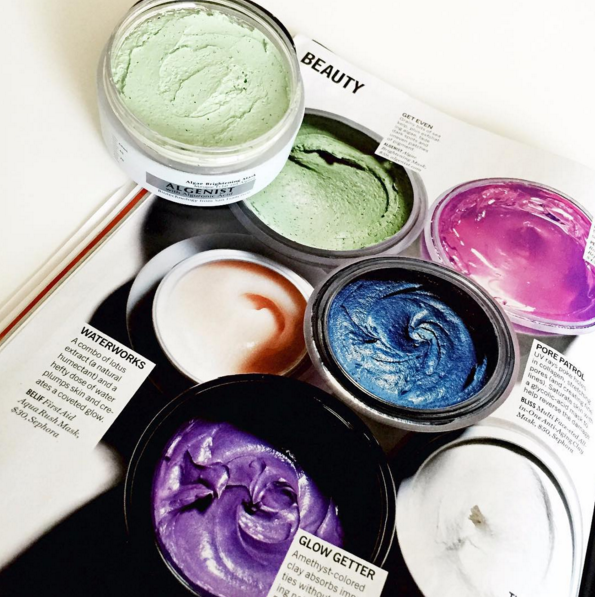 Algae Based Color Correcting Makeup